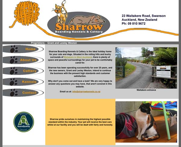 Sharrowkennels.co.nz